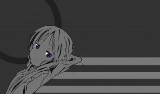 обои для рабочего стола 2880x1698 аниме, k-on, взгляд, фон, девушка