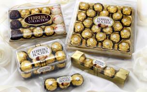 бренды, ferrero rocher, коробки, конфеты