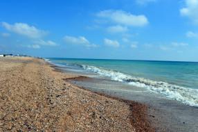 обои для рабочего стола 2560x1702 природа, побережье, море, волна, берег, песок