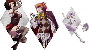аниме, kuroshitsuji, тёмный, дворецкий, книга, цирка