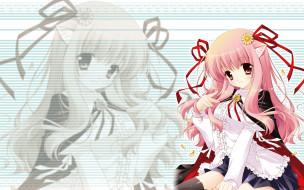 аниме, zero no tsukaima, фон, взгляд, девушка