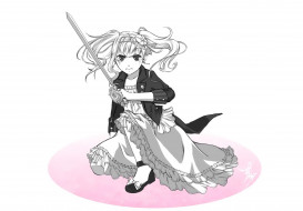 аниме, kuroshitsuji, elizabeth, ethel