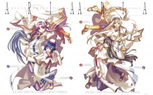 обои для рабочего стола 1920x1200 аниме, aria