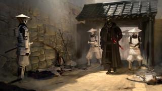 япония, костюм, самурай, катана, меч, darth vader, fan art, star wars