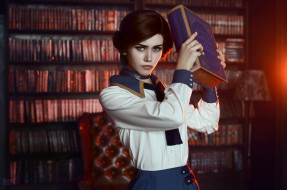 ������, cosplay , �������, book, elizabeth, bioshock, infinite, cosplay