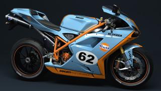 мотоциклы, 3d, ducati
