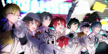 аниме, idolish7, парни