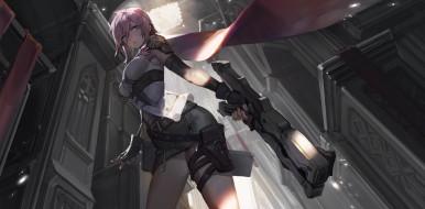 аниме, final fantasy, lightning, farron