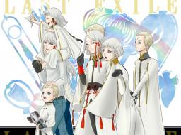 аниме, last exile, last, exile