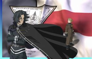 аниме, last exile, claus, valca