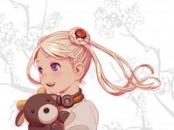 аниме, last exile, stuffed, bear