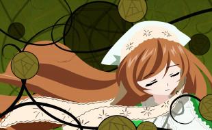 аниме, rozen maiden, девушка, взгляд, фон