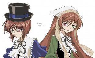 аниме, rozen maiden, персонажи