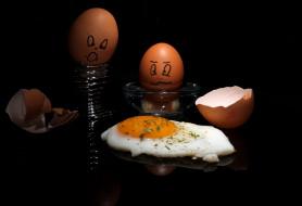 обои для рабочего стола 2048x1403 юмор и приколы, яичница