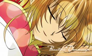 аниме, tsubasa reservoir chronicles, фон, взгляд, девушка