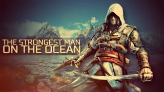 видео игры, assassin`s creed iv,  black flag, пистолет, сабля, фон, мужчина