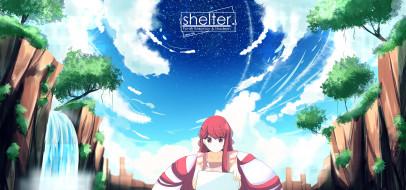 аниме, shelter, rin
