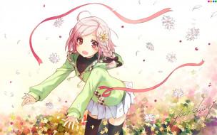 аниме, your diary, девочка