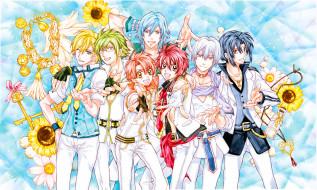 аниме, idolish7, группа, парни