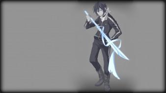 аниме, noragami, Ято, меч