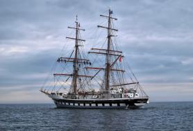 корабли, парусники, мачты, паруса