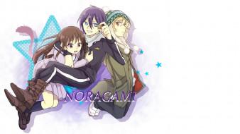 аниме, noragami, Ято, инори, юкине