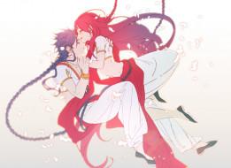 аниме, magi the labyrinth of magic, романтика