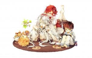 аниме, kuroshitsuji, гробовщик, дети, малыши, жнецы