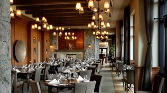 интерьер, кафе,  рестораны,  отели, столики, светильники