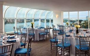 обои для рабочего стола 2880x1800 интерьер, кафе,  рестораны,  отели, веранда, обзор, столики, сервировка