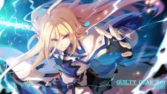аниме, guilty gear, ky, kiske