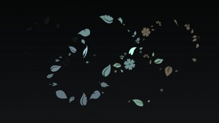 векторная графика, графика , graphics, цветы, бежевый, узор, синий, фон, текстура, голубой, листочки