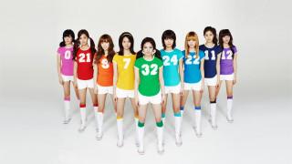 музыка, girls generation , snsd, девушки, фон, данс-поп, взгляд, поп, бабблгам-поп, корея, k-pop, электро-поп, молодежный