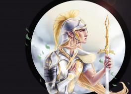 фэнтези, эльфы, рыцарь
