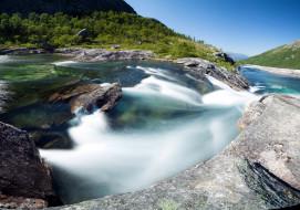 обои для рабочего стола 2560x1800 природа, реки, озера, вода, поток