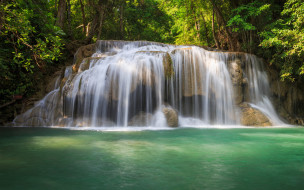 обои для рабочего стола 1920x1200 природа, водопады, поток, камни