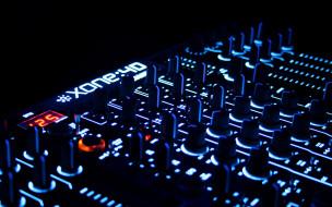 музыка, -музыкальные инструменты, рычаги, микшер, пульт, кнопки