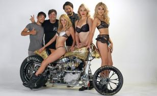 мотоциклы, мото с девушкой, bike