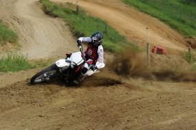 спорт, мотокросс, скорость, гонки