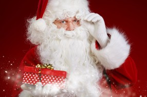 праздничные, дед мороз,  санта клаус, подарок, санта