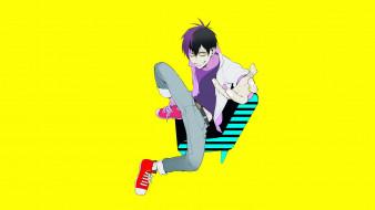 аниме, blood lad, стаз