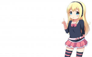 hinako note, аниме, девушка, взгляд, фон