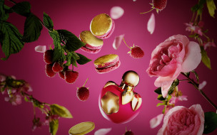 разное, косметические средства,  духи, парфюм, флакон, духи, розы, nina, picci, аромат