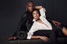 разное, мужчина женщина, ирина, шейк, модель, парень, диван, куртка, рубашка, юбка