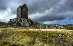smailholm castle,  scotland, города, - дворцы,  замки,  крепости, scotland, smailholm, castle