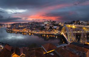 Porto de Ponte a Ponte обои для рабочего стола 2048x1323 porto de ponte a ponte, города, - панорамы, мост, река