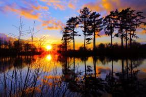 природа, восходы, закаты, рассвет