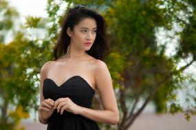 девушки, -unsort , азиатки, взгляд, лицо