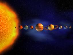 космос, арт, звезда, галактика, вселенная, планеты