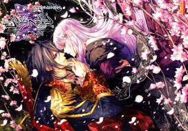 аниме, reine des fleurs, двое